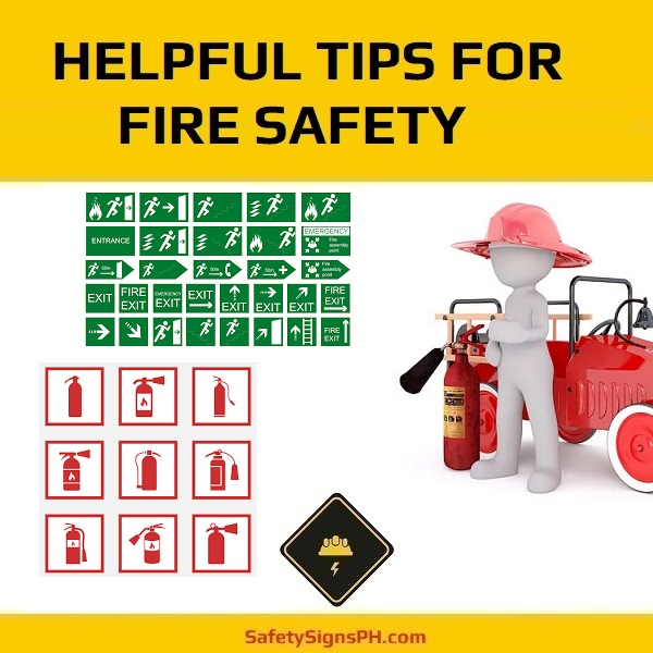 Helpful Tips for Fire Safety