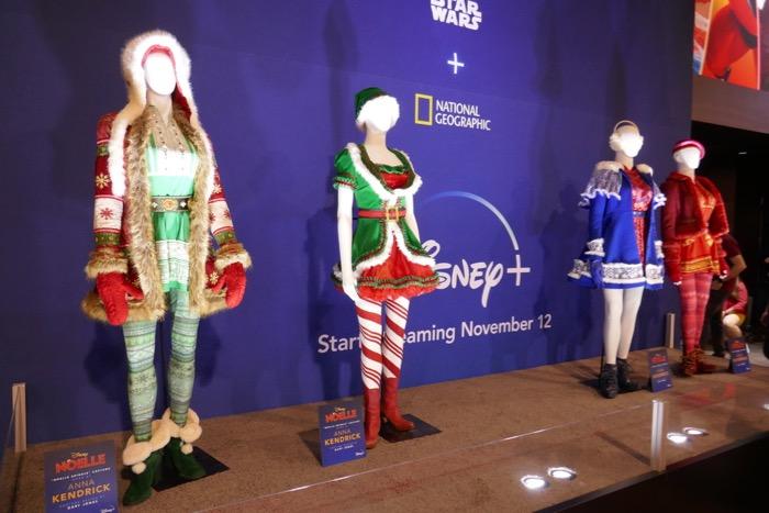 Anna Kendrick Disney Noelle costumes