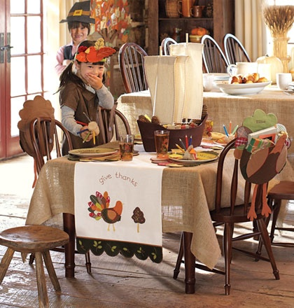 Setting The Thanksgiving Table For Kids The Well
