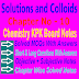 Chemistry Class 11 Notes | Solutions and Colloids | Chapter Ten
