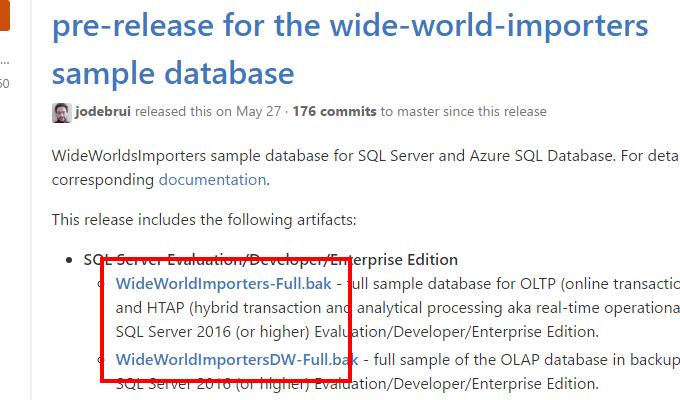 How to import sample database in SQL Server 2016 - Almir Vuk
