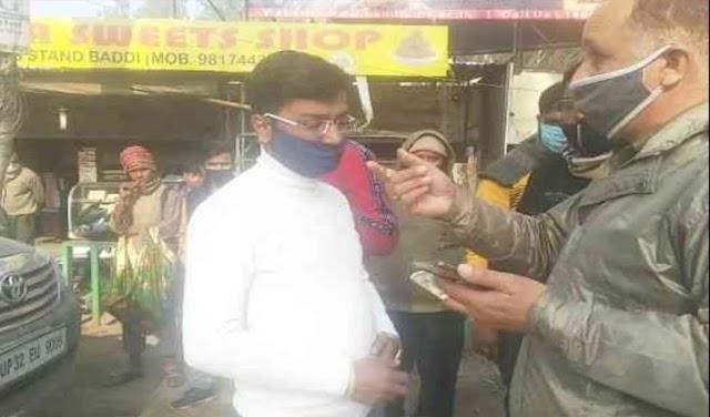 हिमाचल में हूटर बजाने पर कटा चालान; चालक बोला- राजनाथ सिंह का भतीजा हूं