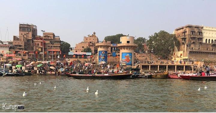 Ganga Varanasi Ghats Images - BaBa