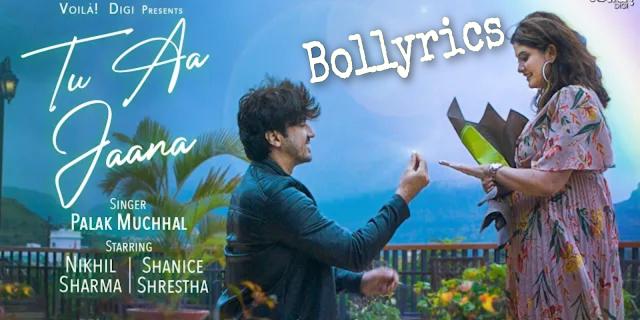 Tu Aa Jaana Lyrics & Download | Palak Muchhal | Mumbiker Nikhil & Shanice Shrestha