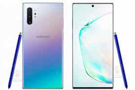 Back and Front Look Samsung's Galaxy Note 10