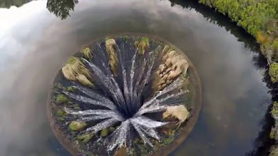 The Covão do Conchos looks like a mythical realm if seen from above