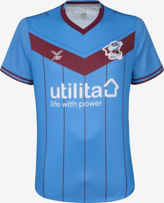 245f735e59501 FBT lança as novas camisas do Scunthorpe United - Show de Camisas
