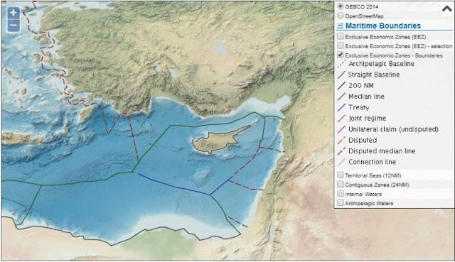 Ελληνική – Κυπριακή ΑΟΖ και Τουρκική στρατηγική