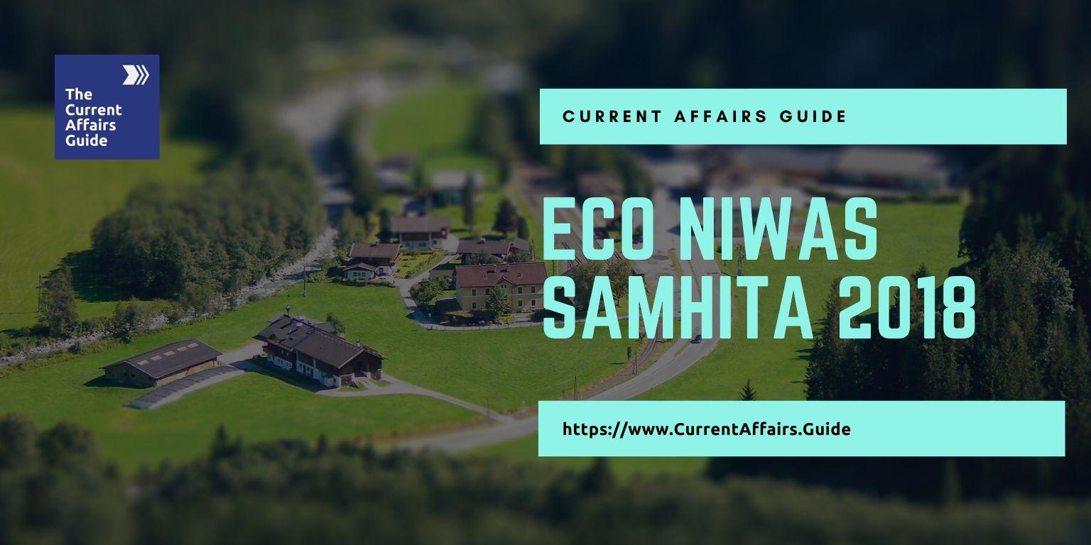 ECO NIWAS SAMHITA 2018