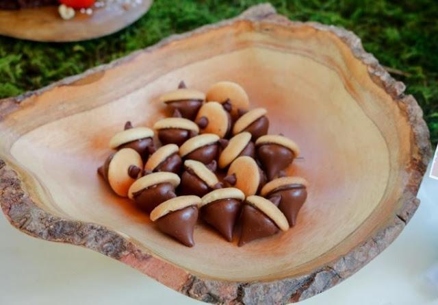 Chocolate Acorns #chocolate #desserts