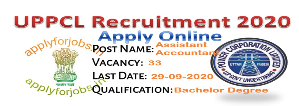 UPPCL Recruitment 2020: Apply for 33 Vacancies, applyforjobs.in