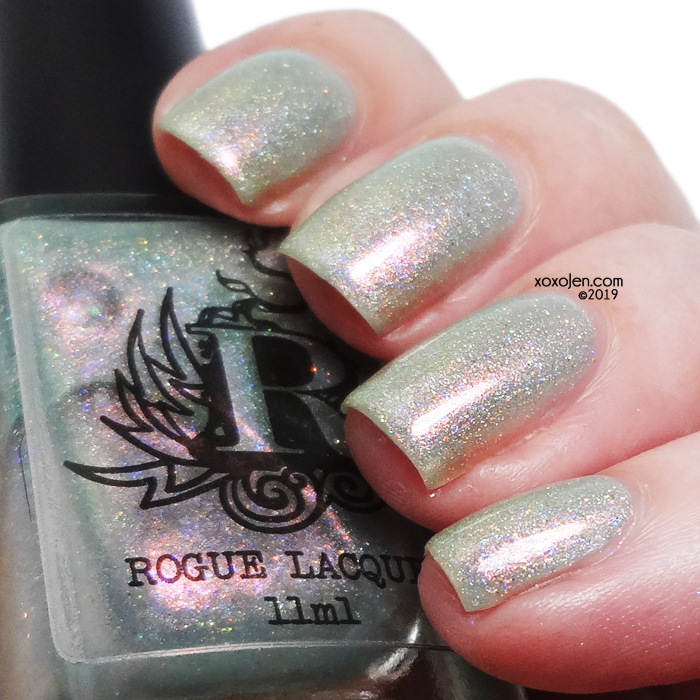 xoxoJen's swatch of Rogue Lacquer Shanklin Chine