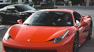 Red ferrari 458 italia sportcar | Mobile Wallpaper