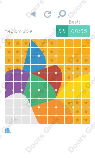 Cheats, Walkthrough for Blocks and Shapes Medium Level 259