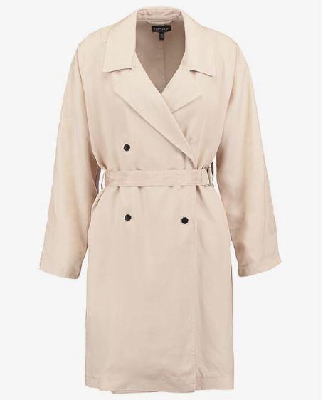 bezowy trencz Top Shop, trench, trench coat outfit, najmodniejsze płaszcze na wiosnę 2017