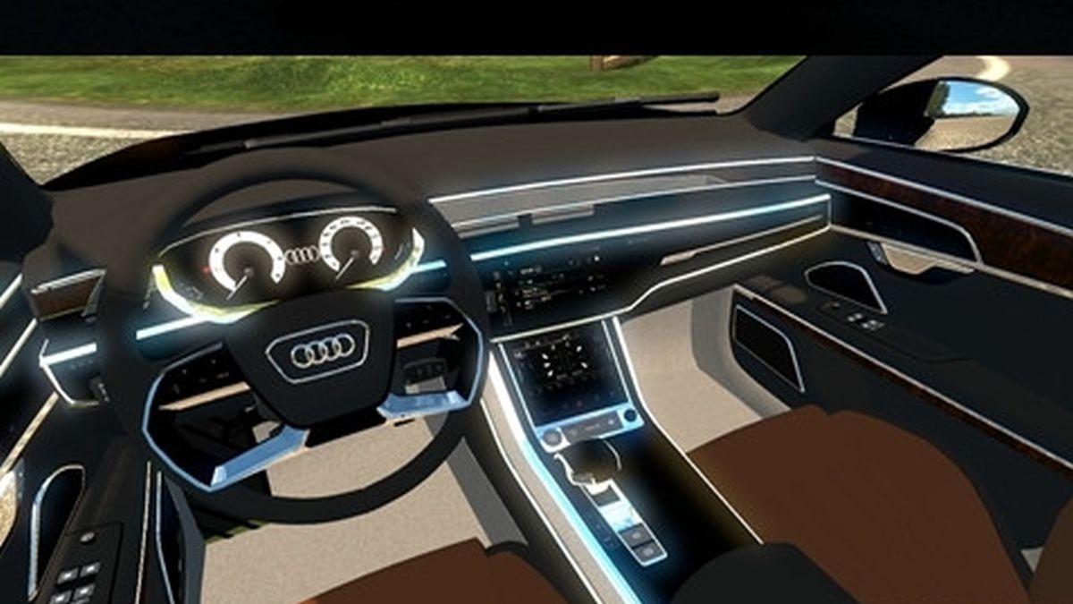 Car Audi A8 2018