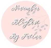 list of november bloglist partcipants