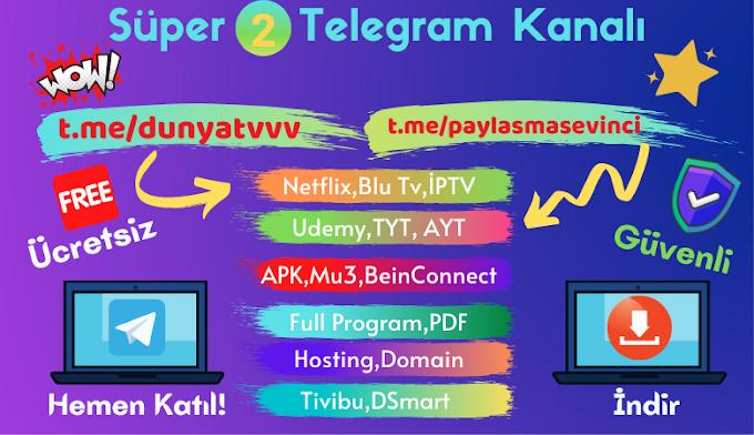 Süper 2 Telegram Kanalı Dünya Gözü ve Paylaşma Sevinci