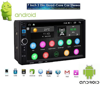 autoradio android 7.1 touch 7""
