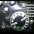 Turn Off Auto Mode -Manual, Aperture, Program and shutter priority mode explanation