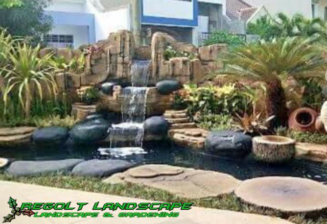 Jasa Pembuatan Dekorasi Kolam Tebing Relif 3D Di Surabaya