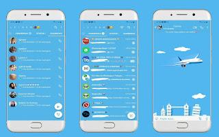 Alone Airplane Theme For YOWhatsApp & Fouad WhatsApp By Leidiane