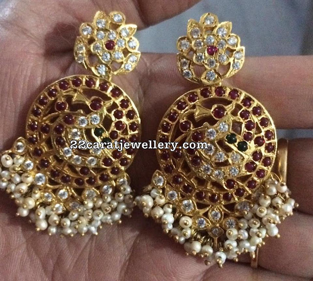 92.5 Silver Guttapusalu Earrings Gallery
