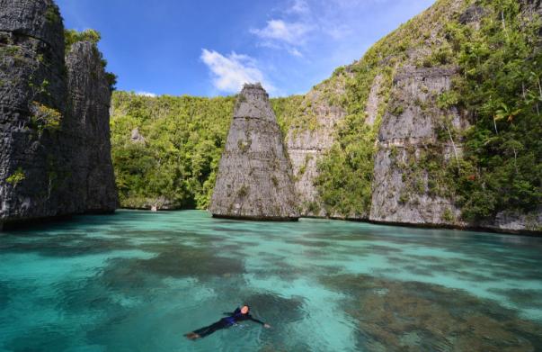 Danau di Misool, Papua