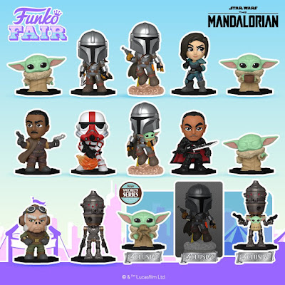 The Mandalorian Star Wars Mystery Minis Blind Box Series by Funko