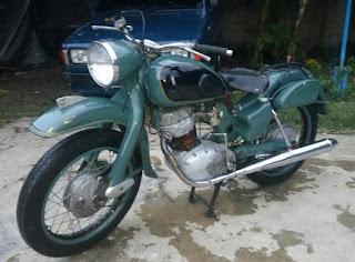 LAPAK MOTOR TUA : Jual Nih Bos..NSU Supermax 250 Tahun 58 - JOGJA