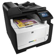 Impressora HP LaserJet Pro CM1415fn MFP