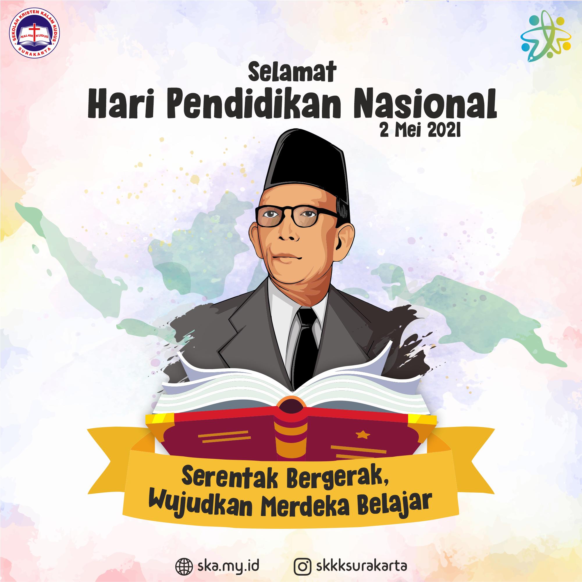 Selamat Hari Pendidikan Nasional 2021