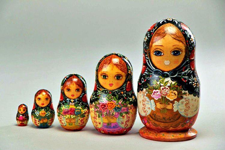 Matruşka bebeklerinin kökeni Japonya'ya dayanır, yanlış bilinenin aksine Rusların değildir.