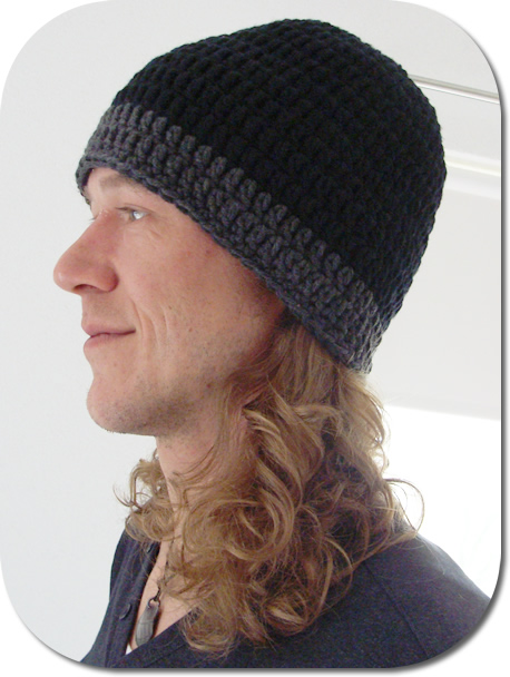 Beanie Pattern For Your Man Happy In Red