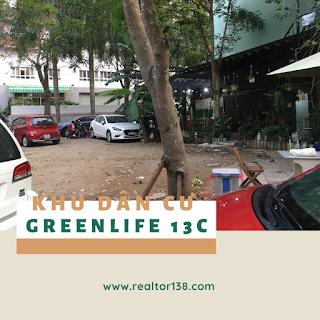 bán đất nền nhà phố lô góc hai mặt tiền khu dân cư greenlife 13c bình chánh