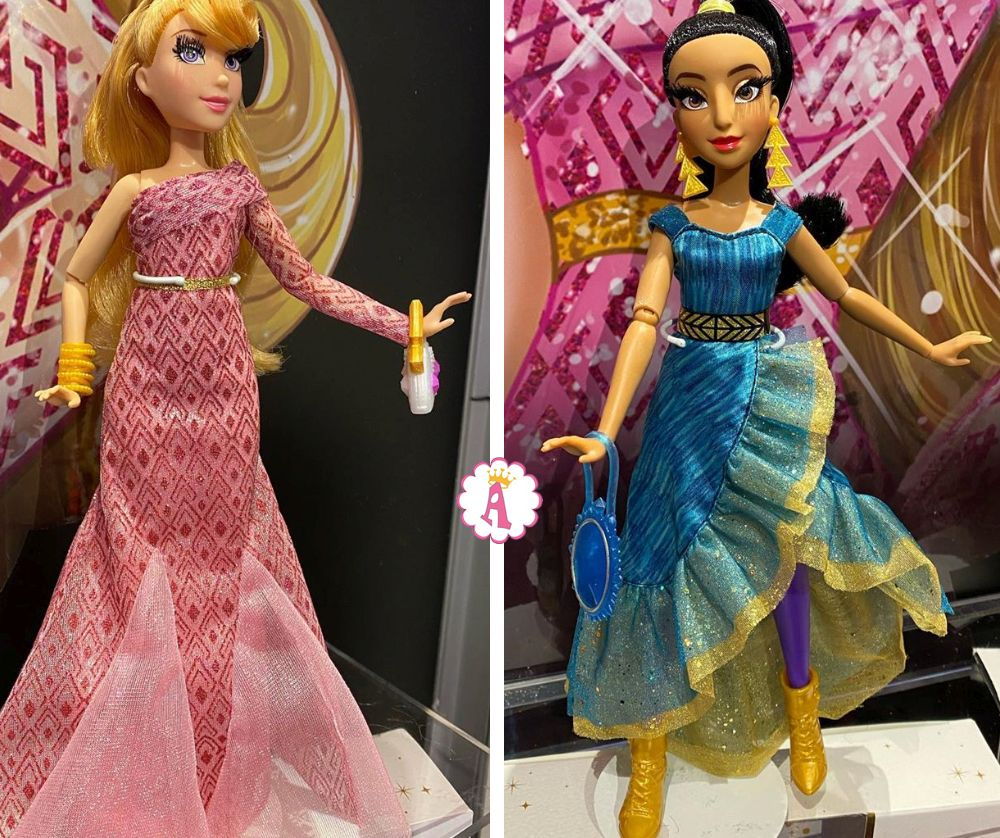 Disney Princess в виде модниц с длинными ресницами (Hasbro) новинки игрушек 2020