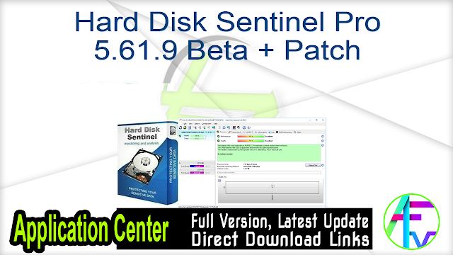 Hard Disk Sentinel Pro 5.61.9 Beta + Patch