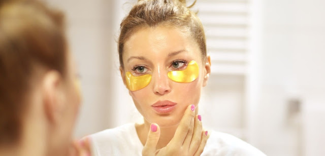 3 component mask for under-eye wrinkles and dark circles