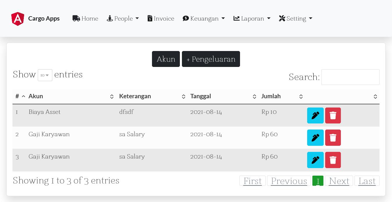Aplikasi kargo ekspedisi pembutan website kargo ekspedisi