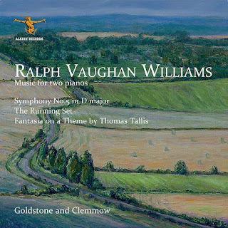Vaughan Williams music for two pianos - Goldstone and Clemmow - Albion Records