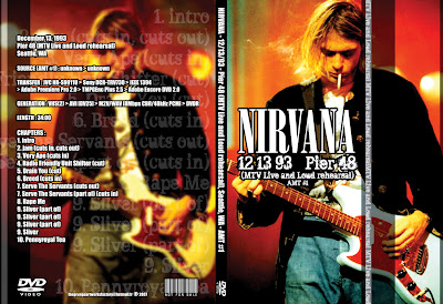 Nirvana - Live Seattle, WA 1993 (pro-shot) DVD