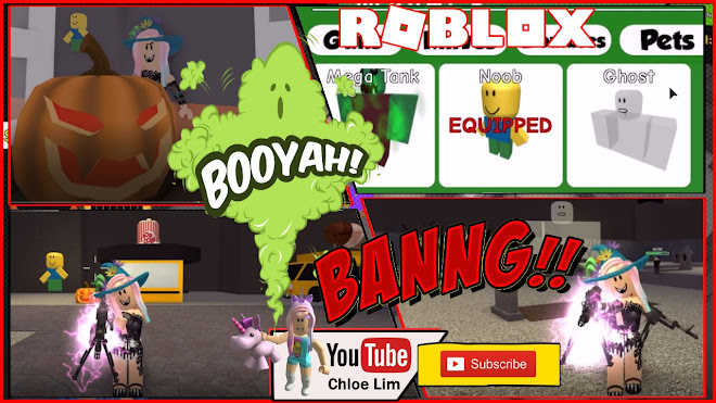 Roblox Zombie Attack Gameplay! Getting 100 Candies for a Limited Ghost Pet! VERY Loud Warning!