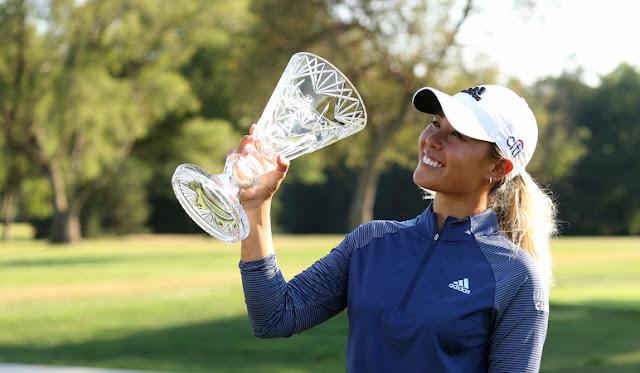 Danielle Kang sigue en forma y se impone en el Marathon LPGA Classic