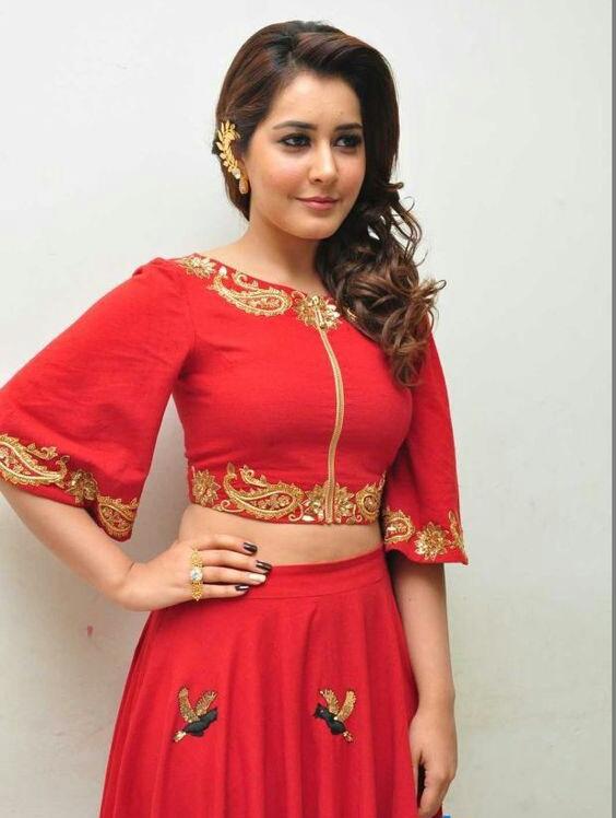 South-Indian Actress Rashi Khanna Hot Photos