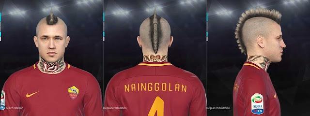 Radja Nainggolan Face PES 2018