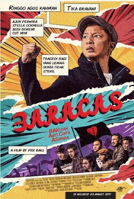 Sinopsis Baracas: Barisan Anti Cinta Asmara [Indonesia - Ringgo] (2017)