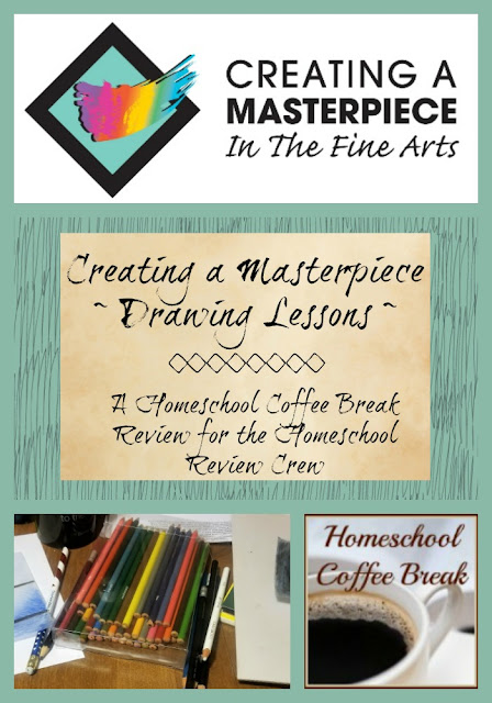 Creating A Masterpiece ~ Drawing Lessons ~ A Homeschool Coffee Break Review at kympossibleblog.blogspot.com