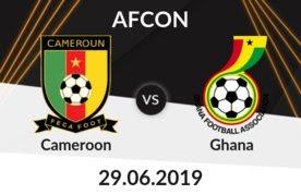 مشاهدة مباراة الكاميرون وغانا بث مباشر اليوم
