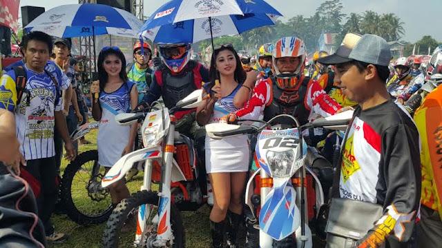 Kodim , Polres dan Polresta Kediri Tampil Di Ajang Adventure Trail Kelud Star 2016