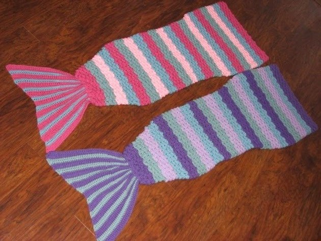 Pattern Free Crochet Mermaid Tail Pattern For Child